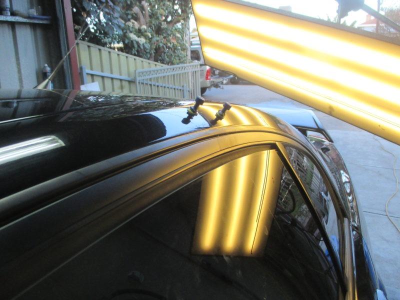 Holden damage repair